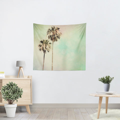 Palm Trees 1 Tapestry - Sylvia Coomes