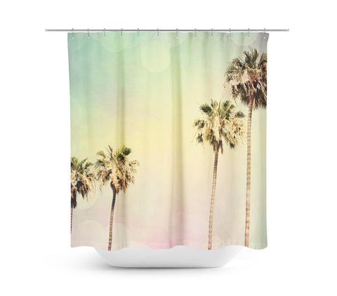 Palm Trees 2 Shower Curtain