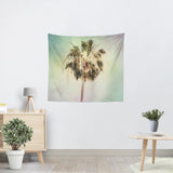 Palm Trees 3 Tapestry - Sylvia Coomes