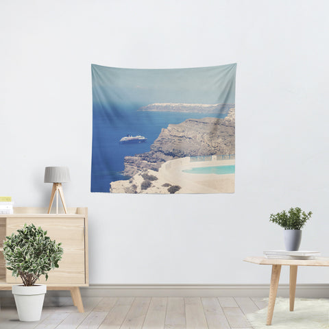 Greek Paradise Tapestry - Sylvia Coomes