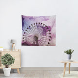 Purple Ferris Wheel Tapestry