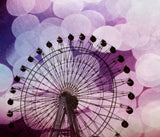 Purple Ferris Wheel Tapestry - Sylvia Coomes