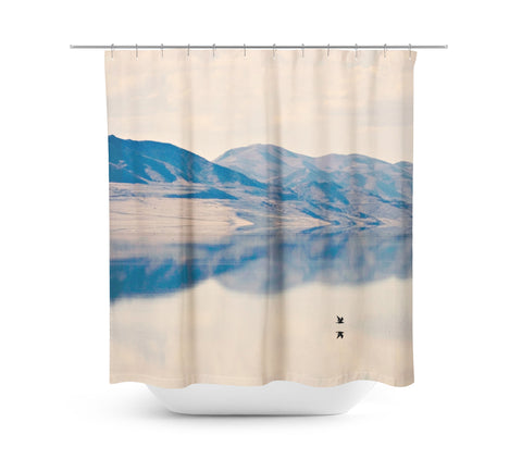Reflection 1 Shower Curtain - Sylvia Coomes