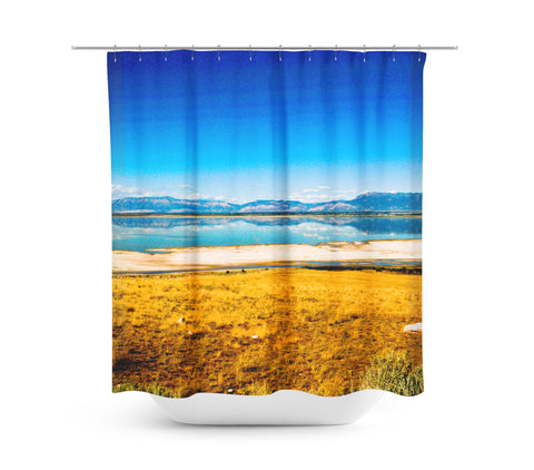 Reflection Shower Curtain - Sylvia Coomes