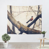 Robin Red Breast Tapestry - Sylvia Coomes
