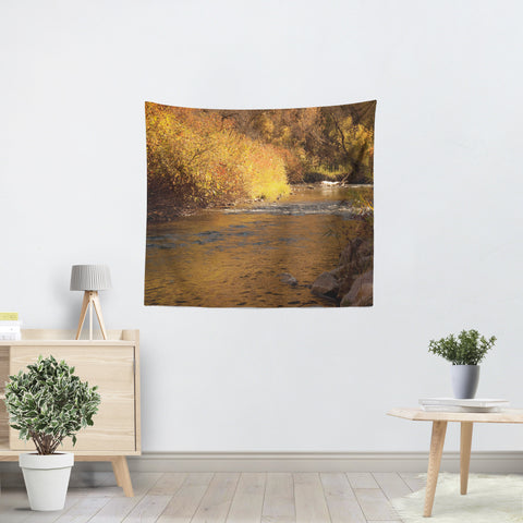 Rustic Fall Tapestry - Sylvia Coomes
