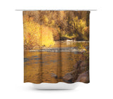 Rustic Fall Shower Curtain - Sylvia Coomes