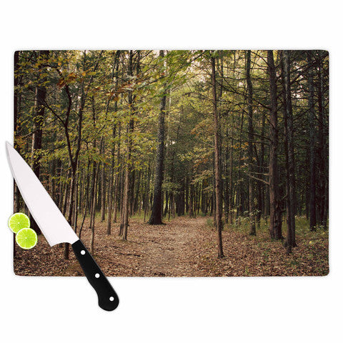 Cutting Board In the Woods 1 - Sylvia Coomes
