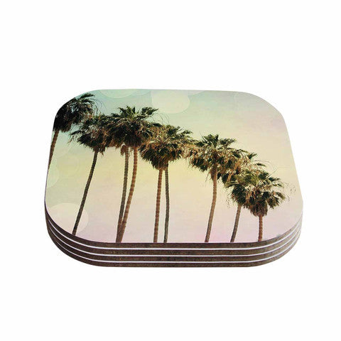 Palm Trees Coaster Set - Sylvia Coomes