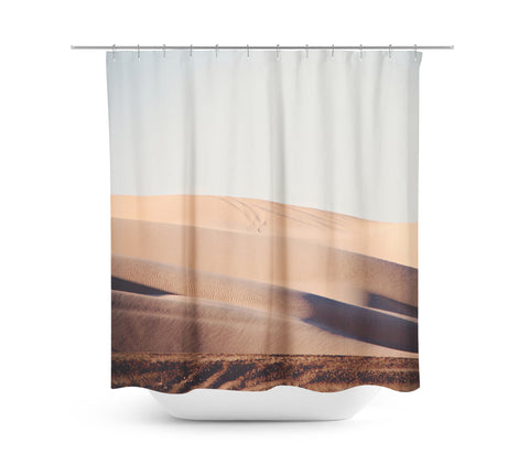 Sand Dunes 1 Shower Curtain - Sylvia Coomes