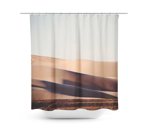 Sand Dunes 2 Shower Curtain - Sylvia Coomes