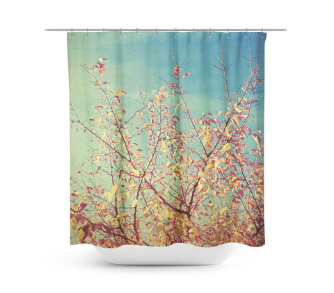 Shades of Fall Shower Curtain - Sylvia Coomes