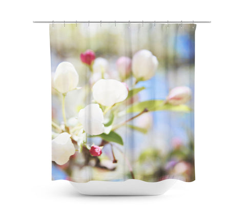 Spring Blooms Shower Curtain - Sylvia Coomes