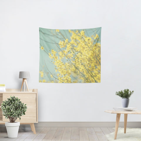 Sunny Blooms 1 Tapestry - Sylvia Coomes