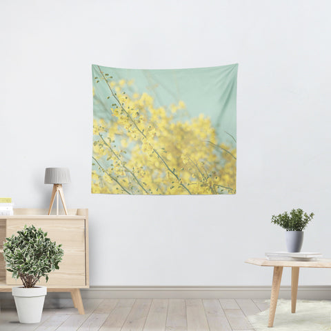 Sunny Blooms 3 Tapestry - Sylvia Coomes