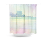 Surfin 2 Shower Curtain - Sylvia Coomes