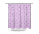 Swiss Cross Orchid Shower Curtain - Sylvia Coomes
