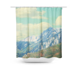 Utah Mountains Shower Curtain - Sylvia Coomes