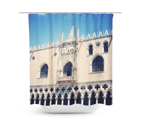 Venice 10 Shower Curtain - Sylvia Coomes