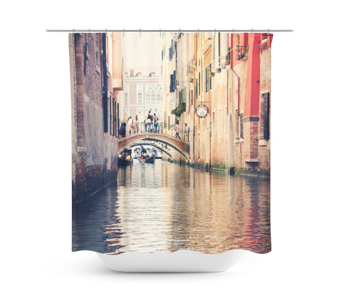 Venice 14 Shower Curtain - Sylvia Coomes