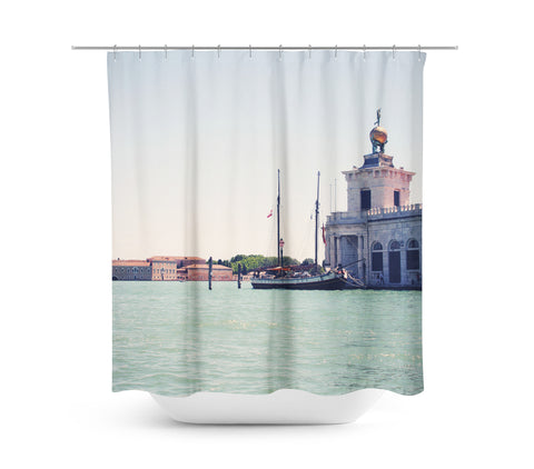 Venice 7 Shower Curtain - Sylvia Coomes