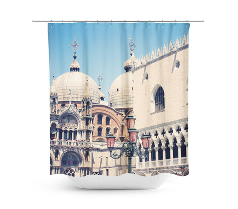 Venice 9 Shower Curtain - Sylvia Coomes