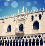 Venice 10 Bokeh Shower Curtain - Sylvia Coomes