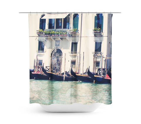 Venice 6 Bokeh Shower Curtain - Sylvia Coomes