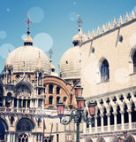 Venice 9 Bokeh Shower Curtain - Sylvia Coomes