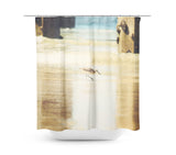 Walking on the Beach Shower Curtain - Sylvia Coomes