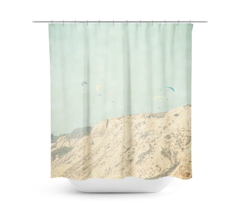 West Coast 2 Shower Curtain - Sylvia Coomes