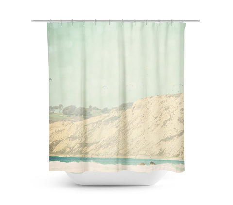 West Coast 3 Shower Curtain - Sylvia Coomes