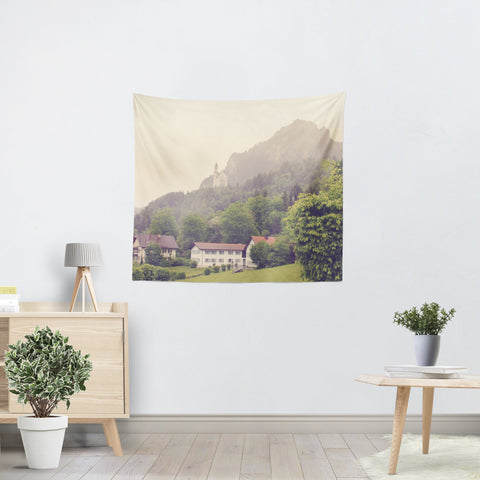 German Beauty Tapestry - Sylvia Coomes