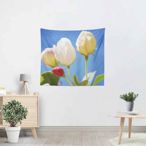 Bright Flowers 2 Tapestry - Sylvia Coomes