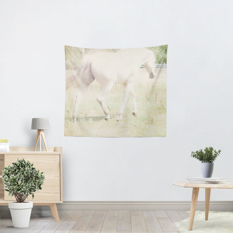 Ethereal Horse Tapestry - Sylvia Coomes