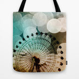 Art Tote Bag At the Fair fine art photography Ferris Wheel - Sylvia Coomes