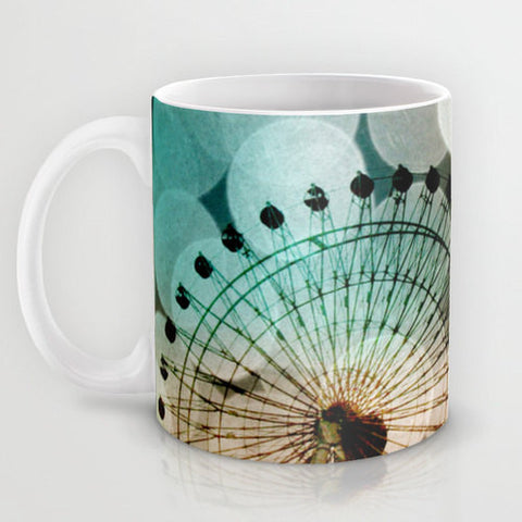 Art Coffee Cup Mug At the Fair fine art photography Ferris Wheel home decor - Sylvia Coomes