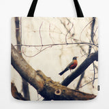 Art Tote Bag Robin Red Breast fine art photography Fashion - Sylvia Coomes
