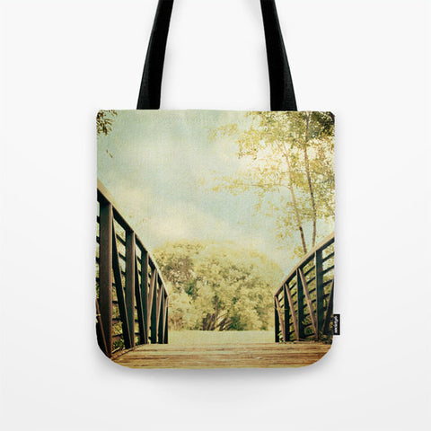 Art Tote Bag Bridge to Paradise fine art photography Fashion - Sylvia Coomes