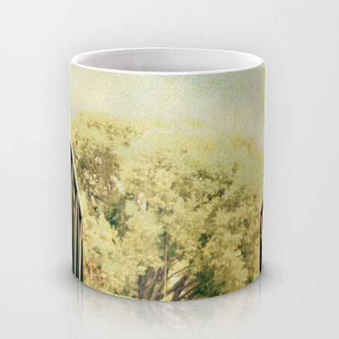 Art Coffee Cup Mug Bridge to Paradise fine art photography home decor - Sylvia Coomes