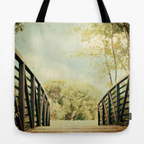Art Tote Bag Bridge to Paradise fine art photography Fashion