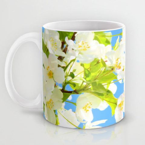 Art Coffee Cup Mug Bright Blooms fine art photography home decor - Sylvia Coomes