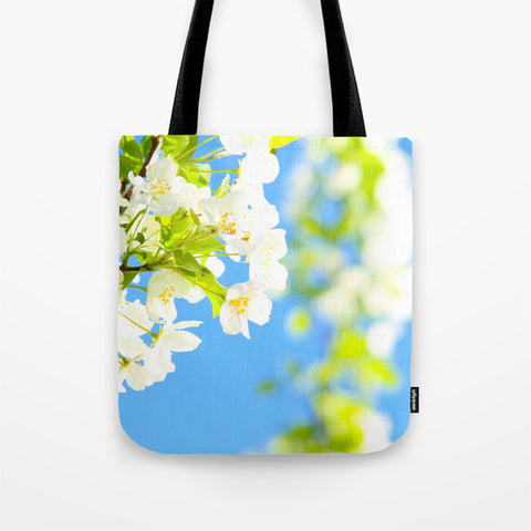 Art Tote Bag Bright Blooms fine art photography Fashion - Sylvia Coomes