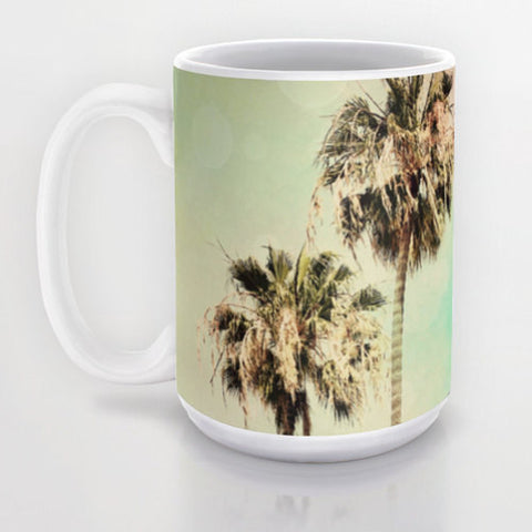 Art Coffee Cup Mug Palm Trees 1 fine art photography home decor - Sylvia Coomes