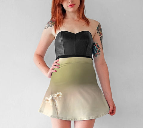 Women's Art Flare Skirt Glimmering Light fine art photography Fashion - Sylvia Coomes