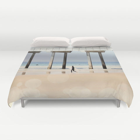 Art Duvet Cover Boardwalk 1 fine art photography home decor