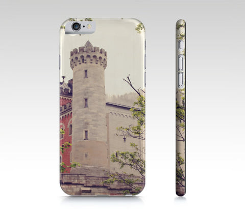 Castle Phone Case - iPhone 5 5S 6 6S - Earth Tones Phone Cover - iPad Mini Case - Samsung Galaxy S4 S5 - German Castle Photo - Sylvia Coomes