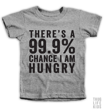 99 Percent Hungry Kids Tees