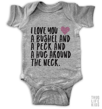 A Bushel And A Peck Onesie