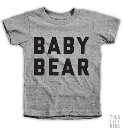 Baby Bear Kids Tees